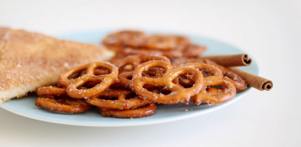 Cinnamon Toast Pretzels